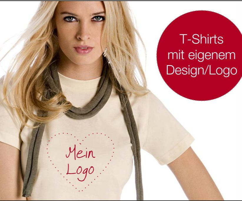 Textildruck - T-Shirts mit eigenem Design