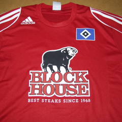 Block House - Transferdruck Sponsoring HSV