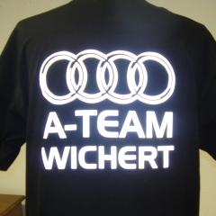 A-Team Audi Wichert - Reflexionsdruck