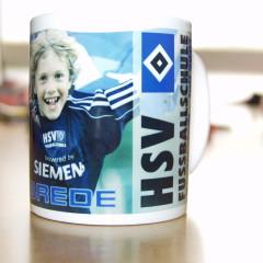 HSV Fußballschule - individueller Becher